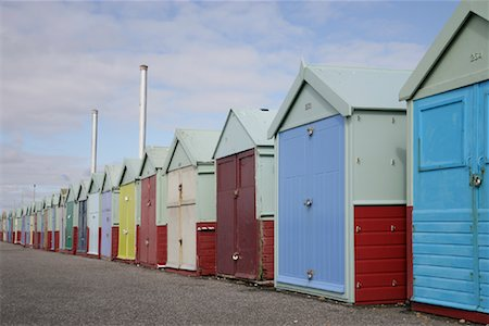 Beach Huts Stock Photo - Rights-Managed, Code: 700-01196063