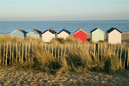 Beach Huts, Southwold, England Stock Photo - Rights-Managed, Code: 700-01196216