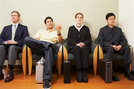 front row seat - Business People Seated Stock Photo - Rights-Managed, Code: 700-01199398