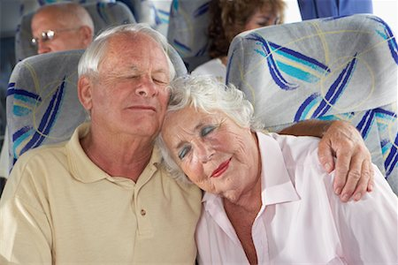 Seniors on Tour Bus Stock Photo - Rights-Managed, Code: 700-01199961