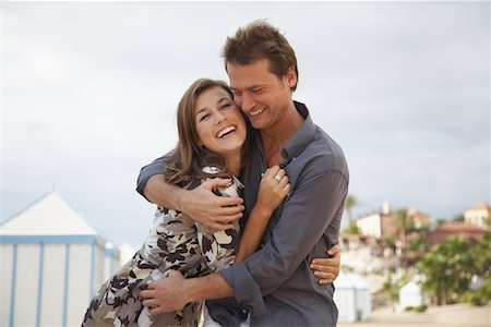 Couple at Beach Stock Photo - Rights-Managed, Code: 700-01200434