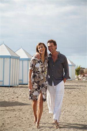Couple at Beach Stock Photo - Rights-Managed, Code: 700-01200433