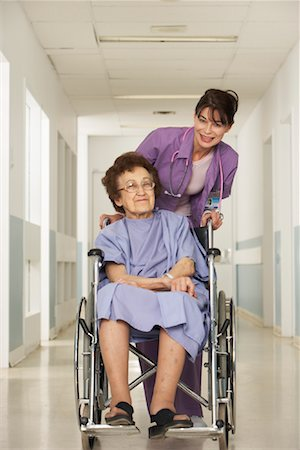 Doctor and Patient in Hospital Stock Photo - Rights-Managed, Code: 700-01224110