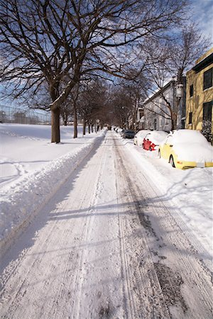 Road in Winter Stock Photo - Rights-Managed, Code: 700-01224276
