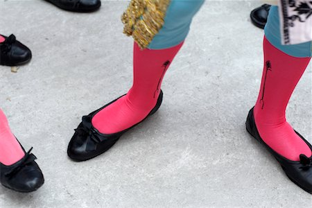 stocking feet - Bullfighter's Feet, Fiesta de San Fermin, Pamplona, Spain Stock Photo - Rights-Managed, Code: 700-01224407