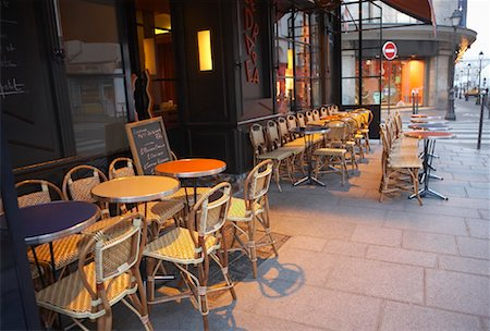 Cafe in Paris, France Stock Photo - Rights-Managed, Code: 700-01223469