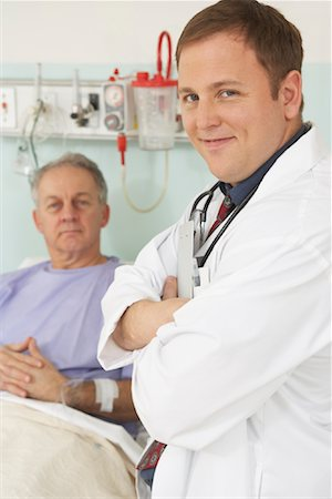 Doctor and Patient in Hospital Stock Photo - Rights-Managed, Code: 700-01236113