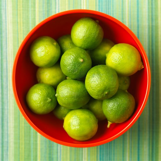 Bowl of Limes Stock Photo - Premium Rights-Managed, Artist: Michael Mahovlich, Image code: 700-01236286