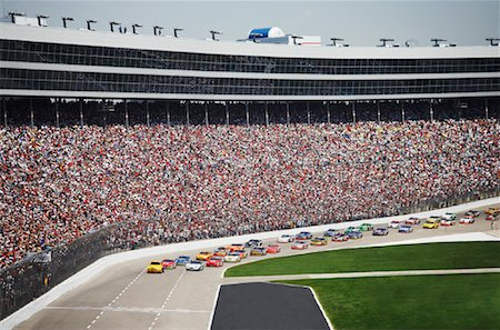 NASCAR Race, Texas, USA Stock Photo - Rights-Managed, Code: 700-01248656