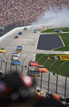 NASCAR Race, Texas, USA Stock Photo - Rights-Managed, Code: 700-01248657