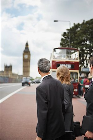 Businesspeople Commuting, London, England Stock Photo - Rights-Managed, Code: 700-01248673