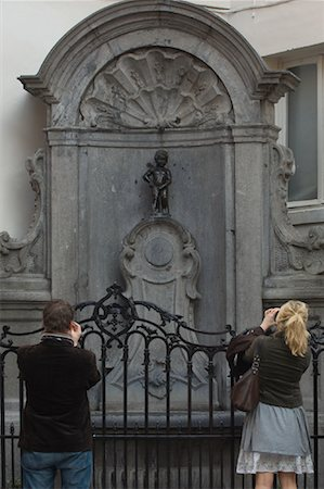 Tourists Taking Photographs, Brussels, Belgium Stock Photo - Rights-Managed, Code: 700-01249161