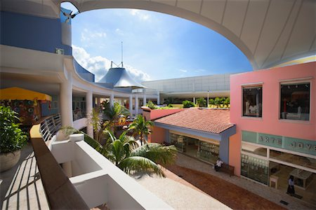 Punta Langosta Mall, Cozumel, Mexico Stock Photo - Rights-Managed, Code: 700-01275366