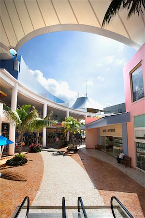 Punta Langosta Mall, Cozumel, Mexico Stock Photo - Rights-Managed, Code: 700-01275367