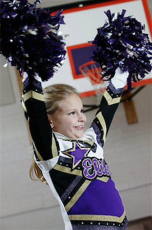 Cheerleader Stock Photo - Rights-Managed, Code: 700-01276078
