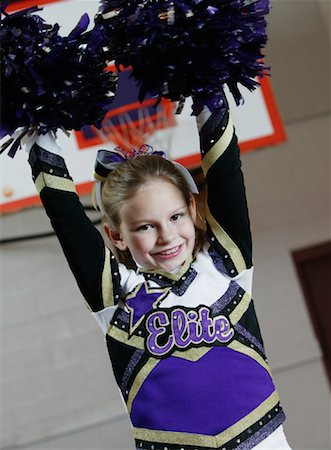 Cheerleader Stock Photo - Rights-Managed, Code: 700-01276079