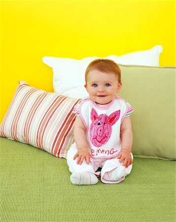 Portrait of Baby Stock Photo - Rights-Managed, Code: 700-01295909