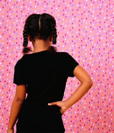 Back View of Girl with Hand on Hip Stock Photo - Rights-Managed, Code: 700-01295918