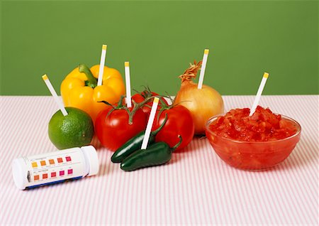 pH Testing in Foods Stock Photo - Rights-Managed, Code: 700-01295926