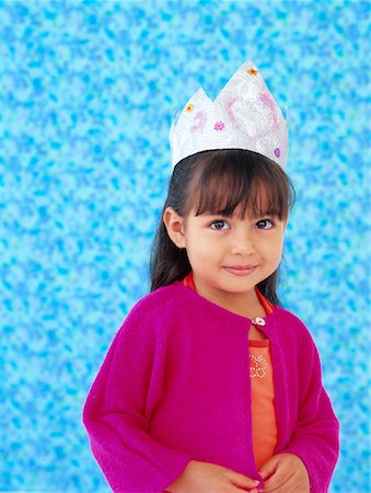 Portrait of Girl Stock Photo - Rights-Managed, Code: 700-01295920