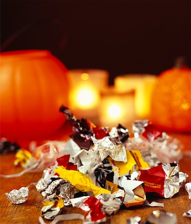 Halloween Candy Stock Photo - Rights-Managed, Code: 700-01295923