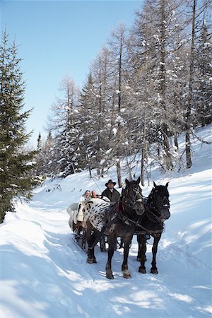 Sleigh Ride Stock Photo - Rights-Managed, Code: 700-01296144