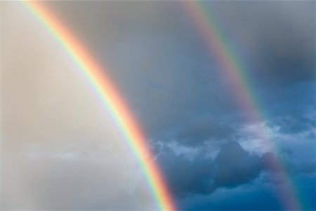 elements (weather) - Rainbow Stock Photo - Rights-Managed, Code: 700-01296480