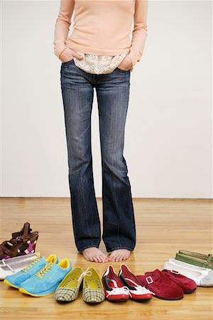 Woman with Shoes Stock Photo - Rights-Managed, Code: 700-01344533