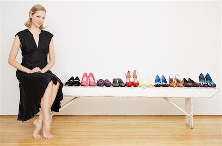 Woman with Shoes Stock Photo - Rights-Managed, Code: 700-01344543