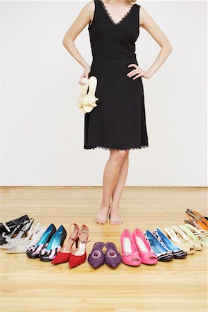 Woman with Shoes Stock Photo - Rights-Managed, Code: 700-01344554