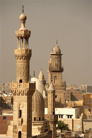 Mosques and Minarets, Cairo, Egypt Stock Photo - Rights-Managed, Code: 700-01374319
