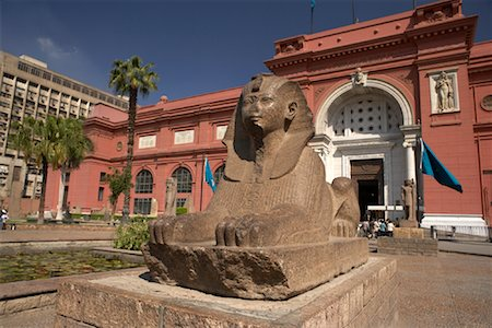 Museum, Cairo, Egypt Stock Photo - Rights-Managed, Code: 700-01374323