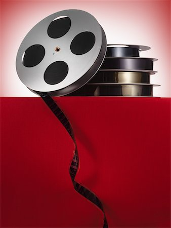 film strip - Film Reels Stock Photo - Rights-Managed, Code: 700-01429064