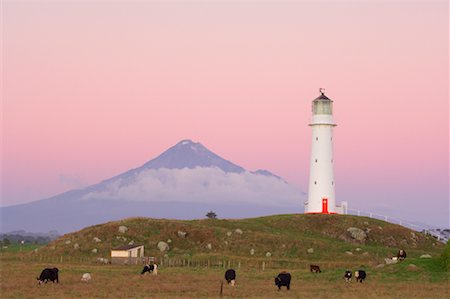 Cape Egmont Lighthouse, Taranaki, New Zealand Stock Photo - Rights-Managed, Code: 700-01464067