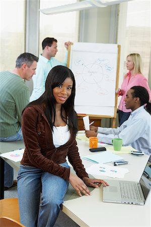 draw black women - Business Meeting Stock Photo - Rights-Managed, Code: 700-01464548