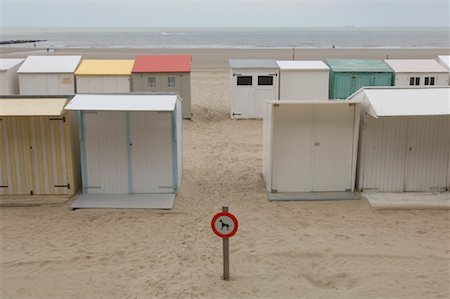 Beach Cottages, Blankenberge, Belgium Stock Photo - Rights-Managed, Code: 700-01463924