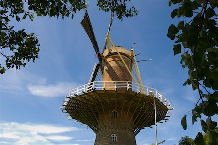 simsearch:600-00954324,k - Windmill, Zeeland, Netherlands Fotografie stock - Rights-Managed, Codice: 700-01463949