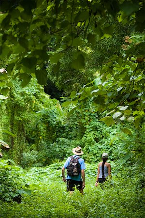 People Hiking near Laulii Village Upolu, Samoa Stock Photo - Rights-Managed, Code: 700-01519478