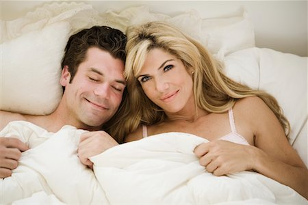 doing sex - Couple in Bed Stock Photo - Rights-Managed, Code: 700-01519513