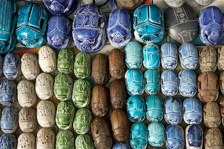 Scarabs, Khan Al-Khalili Bazaar, Cairo, Egypt Stock Photo - Rights-Managed, Code: 700-01538655
