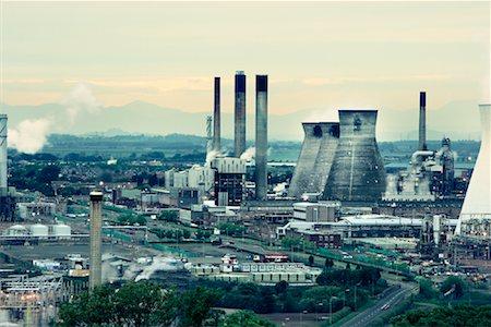 Grangemouth Petrochemical Plant West Lothian, Scotland, UK Stock Photo - Rights-Managed, Code: 700-01538906
