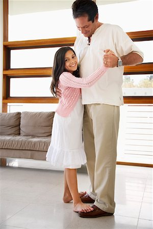 Father Dancing With Daughter Stock Photo - Rights-Managed, Code: 700-01572084