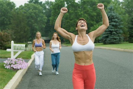 Women Jogging Stock Photo - Rights-Managed, Code: 700-01581919