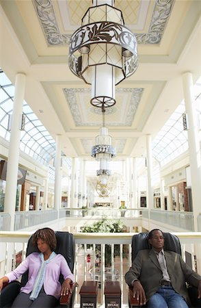 People Resting at the Mall Stock Photo - Rights-Managed, Code: 700-01594057