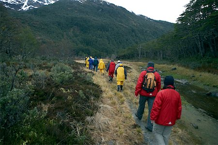 People on Guided Tour, Chile, Patagonia Stock Photo - Rights-Managed, Code: 700-01616822