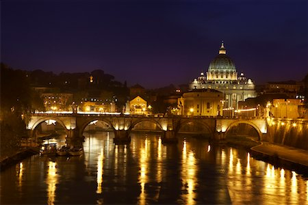 Ponte Sant'Angelo, Rome, Italy Stock Photo - Rights-Managed, Code: 700-01632733