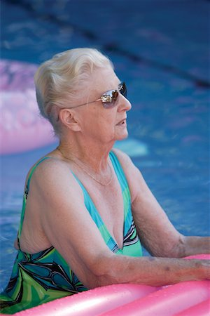 Woman in Pool Stock Photo - Rights-Managed, Code: 700-01645258
