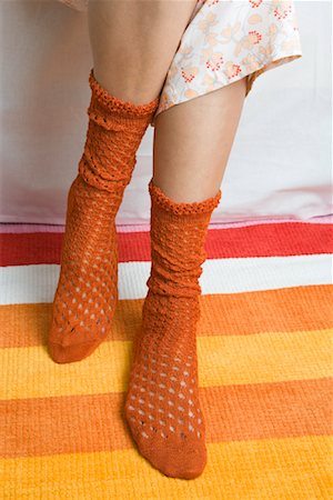 Woman's Socks Stock Photo - Rights-Managed, Code: 700-01694614