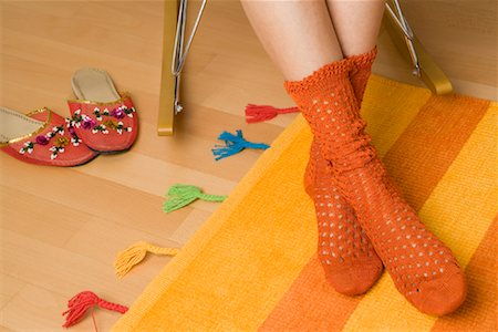 Woman's Socks Stock Photo - Rights-Managed, Code: 700-01694615