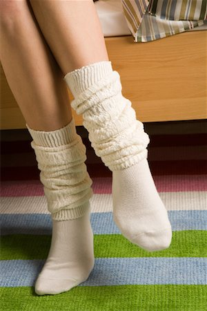 Woman's Socks Stock Photo - Rights-Managed, Code: 700-01694616